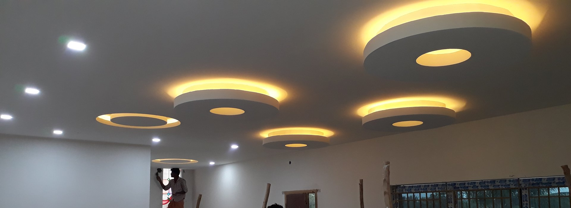 False Ceiling Contractors In Coimbatore Sqft Rs 60